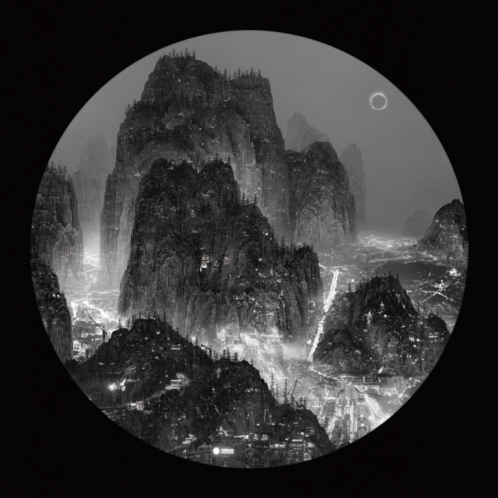 """The Moonlight, Full Moon"", Courtesy Galerie Paris-Beijing. © Yang Yongliang"