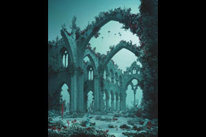 """Underwater Cathedral,"" 2012 © Didier Massard, Courtesy Julie Saul Gallery, New York"