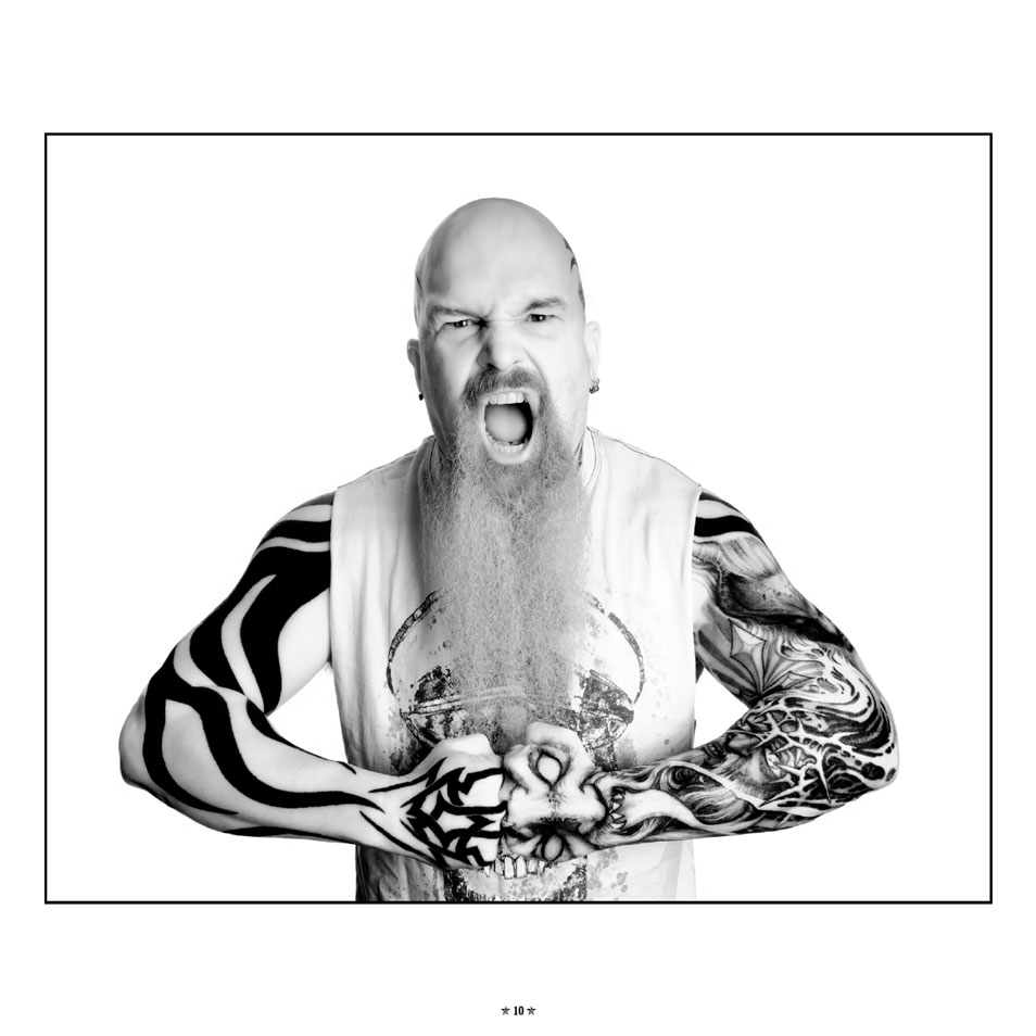 Kerry King Slayer Tattoos: Slayer Guitarist Kerry King