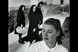 "Gordon Parks, ""Ingrid Bergman, Stromboli, Italy, 1949."" © The Gordon Parks Foundation"
