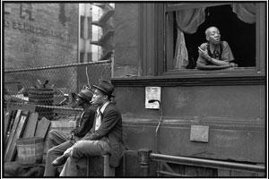 """""""Harlem, NY,"""" 1947. © Henri Cartier-Bresson"""