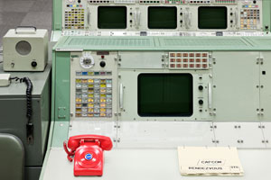 Apollo Mission Control Console, Houston, 2012. © Dan Winters/Courtesy Fahey/Klein Gallery
