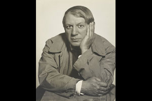 Pablo Picasso, 1934. ©  The J. Paul Getty Museum, Los Angeles/Man Ray Trust