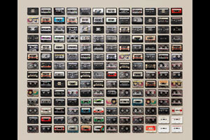 Cassette collection. © Jim Golden
