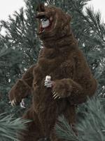 FakeShamus, Manifest Destinaut (Grizzly-Suit), 2010. © Shamus Clisset