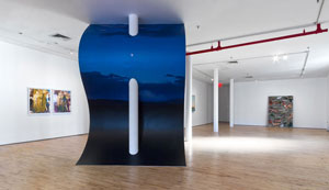 "Installation view of ""Monuments at Landmarks"" at Art in General. Photo © Steven Probert"