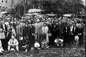 Pilgrimage of the twenty-third annual conference of the National Association for the Advancement of Colored People, Harper's Ferry, West Virginia. May 22, 1932. © Courtesy of Princeton Architectural Press