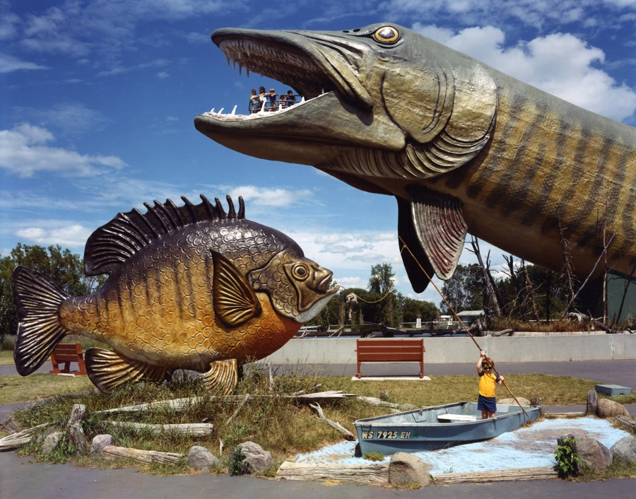 Chronicling america in 35 pictures pdn photo of the day for Freshwater fishing hall of fame