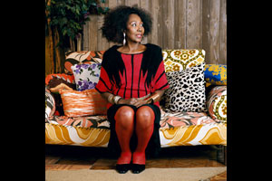 © Mickalene Thomas/ Lehmann Maupin, New York & Hong Kong/Artists Rights Society (ARS), New York