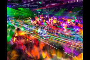 """Robot Restaurant,"" Tokyo, 2014. © Matthew Pillsbury/Courtesy Benrubi Gallery"