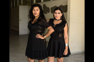 "Amigas in black from ""Calle 4 Sur (South Street Four). © Antonio Pulgarin"