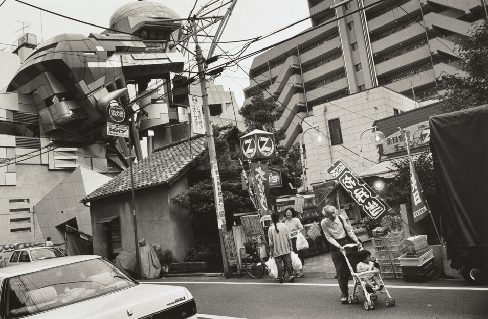 Pdn photo of the day tokyo sjinjukugyoen shinjuku for Domon domain