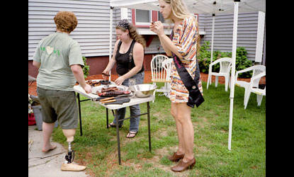 """BBQ,"" 2012 from ""Gyrle."" © Jennifer Loeber"