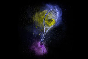 """Tennis,"" from the ""Powder"" series. © Steve Boyle"