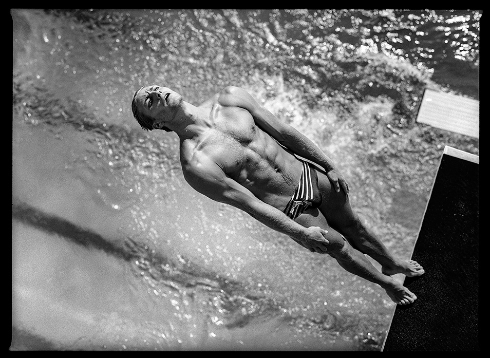 Image result for David Burnett platform diving