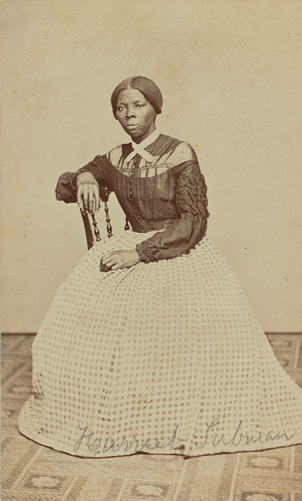 Benjamin F Powelson Harriet Tubman A Hitherto Unknown Carte De Visite In The Emily Howland Photograph Album 1868 Or 1869 From Library Of Congress