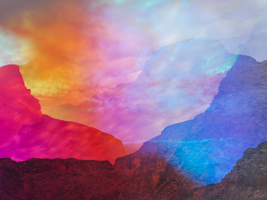 Capturing the Shifting Colors of the Land and Mind