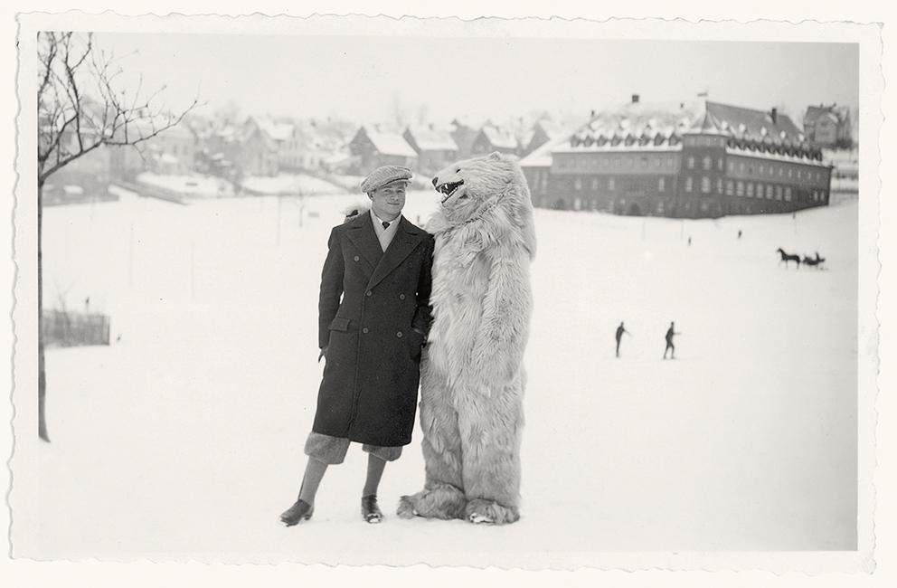 Posing With Polar Bears